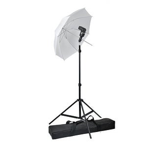 vidaXL Portable Speedlight Set