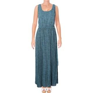 MICHAEL Michael Kors Womens Stingray Maxi Dress Printed Pleated