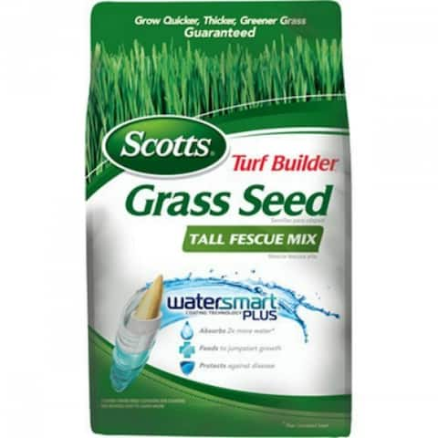 Scotts 18346 Turf Builder Grass Seed Tall Fescue Mix, 7 Lbs