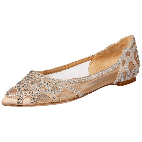 Badgley Mischka Women's Gigi Pointed Toe Flat