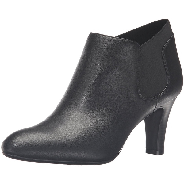 Bandolino Womens Wilbur Leather Closed Toe Ankle Fashion Boots