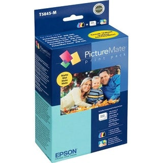 Epson PictureMate 200 Print Paper - Matte  Print Pack