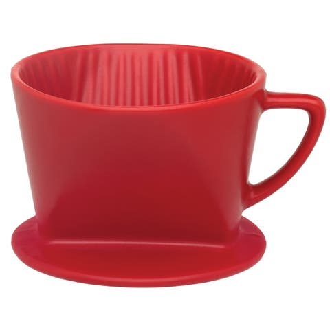 Harold Import NT1054RD Filter Cone, Matte Red
