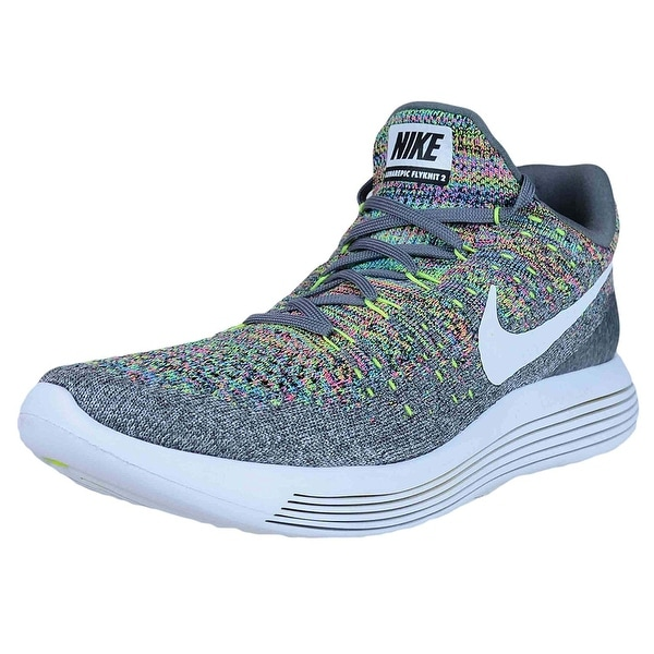 d494221f83c68 Shop Nike Mens Lunarepic Low Flyknit 2 Low Top Lace Up Running ...