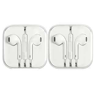 2 Pack - New Genuine Apple MD827LL/A Earpods Earphones for iPhone 6 5 4S w/ Remote & Mic|https://ak1.ostkcdn.com/images/products/is/images/direct/fd4039bfab024d8a89a3b5361c39204c70fed6b0/2-Pack---New-Genuine-Apple-MD827LL-A-Earpods-Earphones-for-iPhone-6-5-4S-w--Remote-%26-Mic.jpg?impolicy=medium