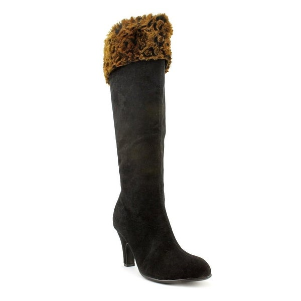 Aerosoles Grape Leaves Women Round Toe Canvas Knee High Boot