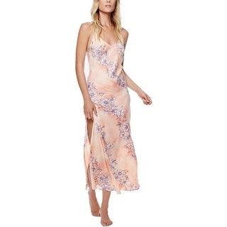 Intimately Free People Womens Slip Dress Satin Floral Print (2 options available)