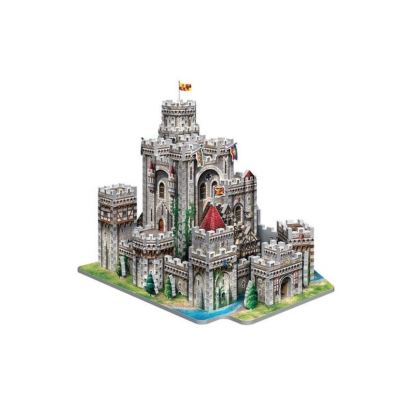 King Arthur's Camelot Castle Wrebbit 3D Jigsaw Puzzle