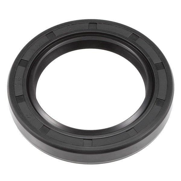 Oil Seal, TC 38mm x 55mm x 8mm, Nitrile Rubber Cover Double Lip - 38mmx55mmx8mm