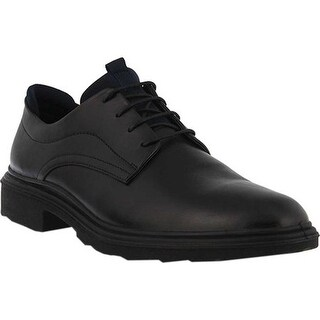 Spring Step Men's Richard Derby Shoe Black Leather