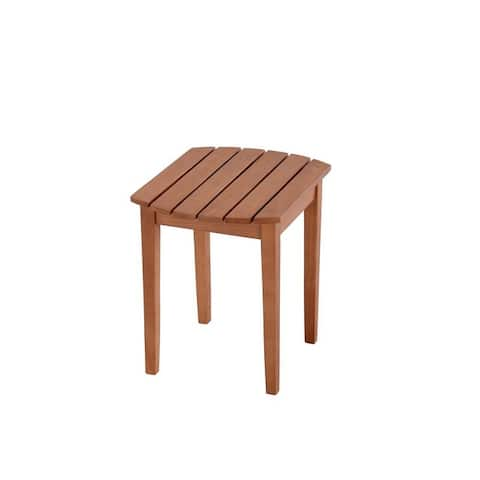 Oceanic Collection Solid Wood Side Table
