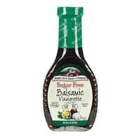 Maple Grove Farms Dressing - Balsamic Vinaigrette - Case of 12 - 8 oz.