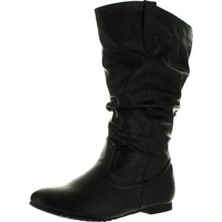 Reneeze Womens Art-02 Mid-Calf Boots