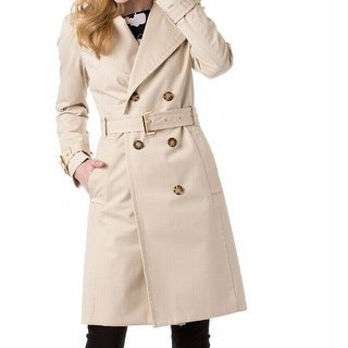 Michael Kors NEW Beige Khaki Women's Size 14 Belted Trench Coat