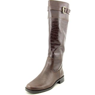 A2 By Aerosoles High Ride Round Toe Synthetic Knee High Boot