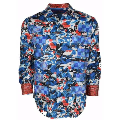 Robert Graham Classic Fit ZEN BEACH Abstract Limited Edition Sport Shirt