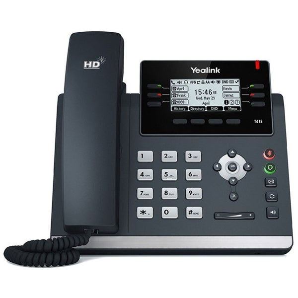 Yealink Skype For Business Ultra-Elegant Ip Phone 2.7 Inch. Graphical Lcd