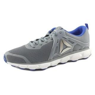 Reebok Hexaffect Run 5.0 Men Round Toe Synthetic Gray Sneakers
