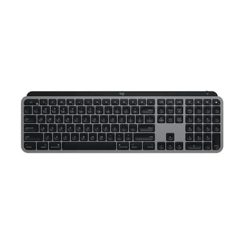 Logitech MX Keys Advanced Illuminated Wireless Keyboard for Mac
