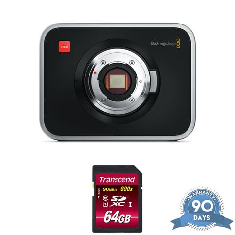 Blackmagic Design Cinema Camera (MFT Mount) - with Memory Card