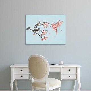 Easy Art Prints Terry Fan's 'Blossom Bird Option' Premium Canvas Art