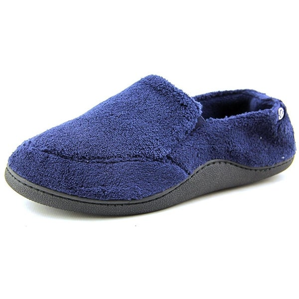 Isotoner Microterry Slipper   Round Toe Canvas  Slipper