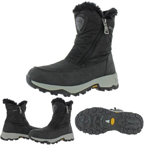 Pajar Women's Tiare Nylon Waterproof Cold Weather Winter Boots - Black