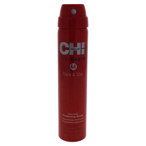 44 Iron Guard Style & Stay Firm Hold Protecting Spray By Chi For Unisex - 2 6 Oz Hair Spray