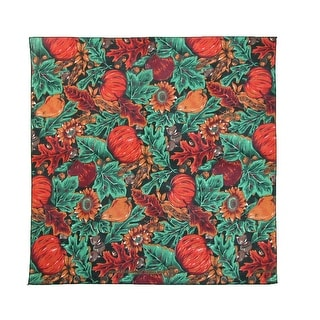 CTM® Acorns and Pumpkins Fall Bandana - Multi-Color - One Size