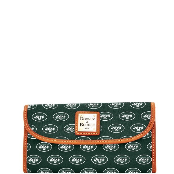 Dooney & Bourke NFL New York Jets Continental Clutch (Introduced by Dooney & Bourke at $128 in Aug 2016)