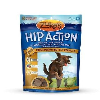 Zuke's Hip Action Treats with Glucosamine Peanut Butter 6 oz.