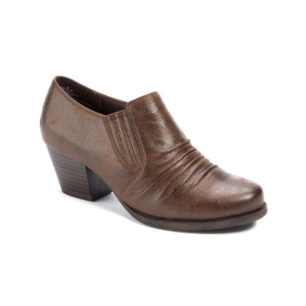 Wear.Ever. Rancha Women's Heels Dk Brown