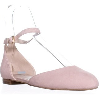 Kenneth Cole New York Willow Ankle Strap Flats, Rose - 7.5 us / 38 eu