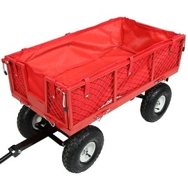 Sunnydaze Utility Cart Liner - Includes Cart Liner ONLY