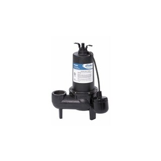ProFlo PF93501 1/2 HP Cast Iron Sewage Pump with Float Switch