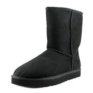 Ugg Australia Classic Short Round Toe Suede Winter Boot