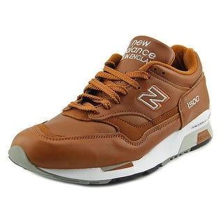 New Balance M1500 Men Round Toe Leather Brown Sneakers