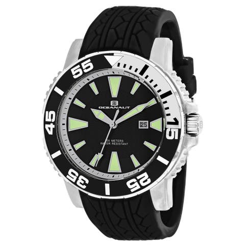 Oceanaut Men's Marletta OC2916 Black Dial Watch