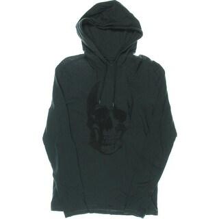 John Varvatos USA Mens Graphic Long Sleeves Hoodie - S