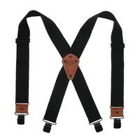 Dickies Men's Industrial Strength Ballistic Nylon Clip End Work Suspenders - One size