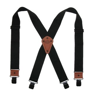 Dickies Men's Industrial Strength Ballistic Nylon Clip End Work Suspenders