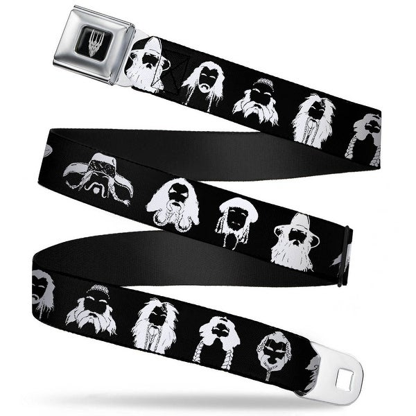 Smaug Icon Full Color Black Gray The Hobbit Beards Of Middle Earth Seatbelt Belt
