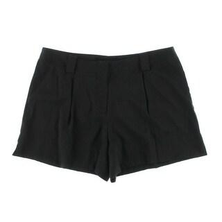Theory Womens Sherlyn Silk Solid Dress Shorts