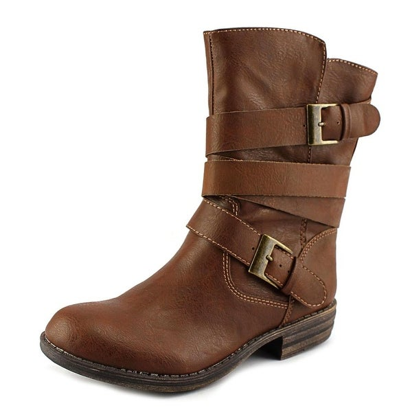 American Rag Cale Women  Round Toe Synthetic Brown Mid Calf Boot