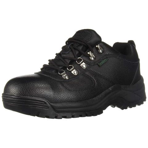 Propét Mens Shield Walker Low Leather Composite toe Lace Up Safety Shoes