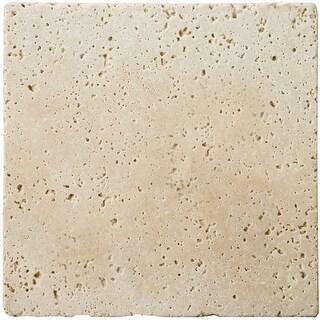 """Emser Tile T06FONT0404UT Trav Fontane Tumbled - 3-15/16"""" x 3-15/16"""" Square Multi - N/A"""