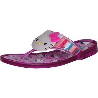 Hello Kitty Girls Lil Jilian Sandals - jelly fuchsia