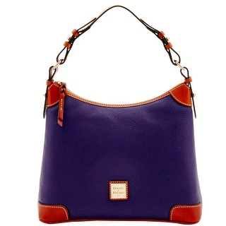 Dooney & Bourke Pebble Grain Hobo (Introduced by Dooney & Bourke at $228 in Jun 2016) - Plum