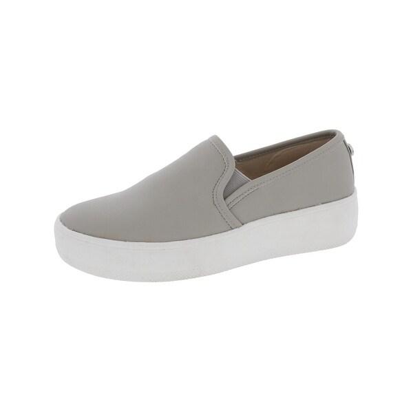 Steve Madden Womens Buffey Loafers Faux Leather Flatform