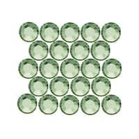 Swarovski Crystal, Round Flatback Rhinestone Hotfix SS20 4.6mm, 50 Pieces, Crystal Sage